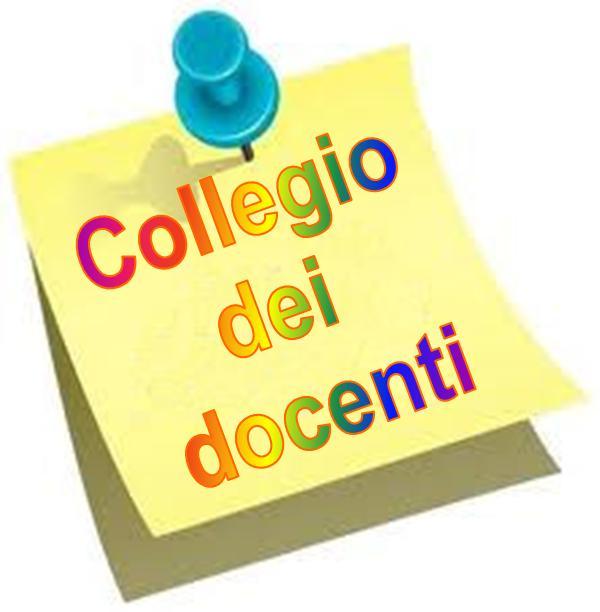 COMUNICAZIONE  N.   104 - Collegio docenti